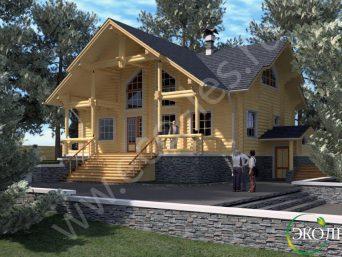 дом 3D Temporary enl